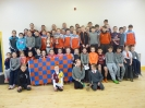 Visit from Abbeyknockmoy hurlers